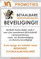 BETAALBARE beveiliging bij Multi-Home Malle!!